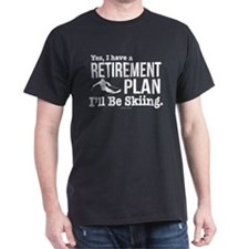 Ski Retirement Plan T-Shirt