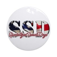 SSD Ornament (Round)