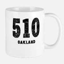 510 Oakland Distressed Mugs