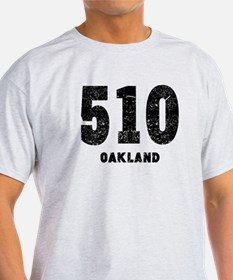 510 Oakland Distressed T-Shirt