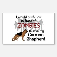 GSD vs Zombies Decal
