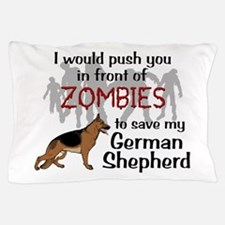GSD vs Zombies Pillow Case