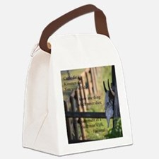 Havamal Saying Canvas Lunch Bag