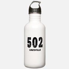 502 Louisville Distressed Water Bottle