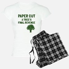 Paper cut tree's revenge Pajamas