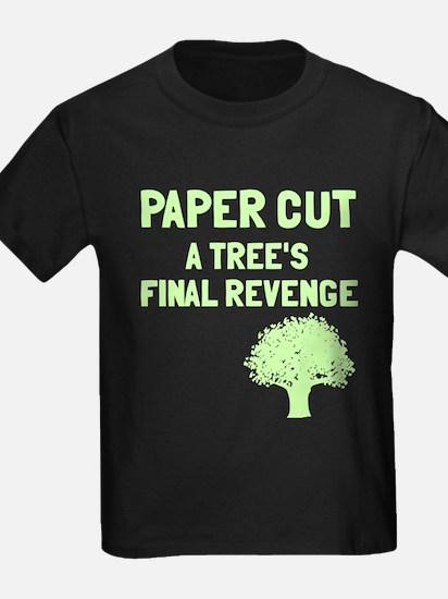 Paper cut tree's revenge T