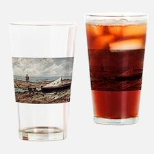 Giovanni Fattori - Der graue Tag (S Drinking Glass
