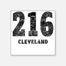 216 Cleveland Distressed Sticker