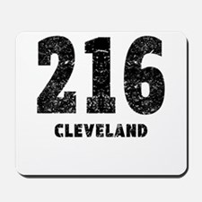 216 Cleveland Distressed Mousepad