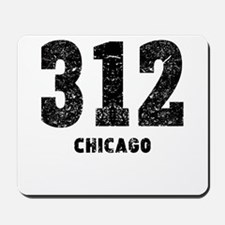 312 Chicago Distressed Mousepad