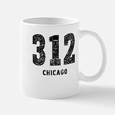 312 Chicago Distressed Mugs