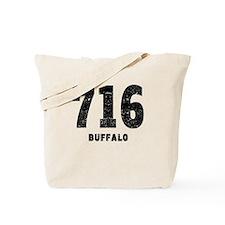 716 Buffalo Distressed Tote Bag