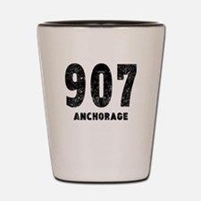 907 Anchorage Distressed Shot Glass