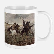 Giovanni Fattori - Cowboys and Herds in the M Mugs