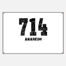 714 Anaheim Distressed Banner