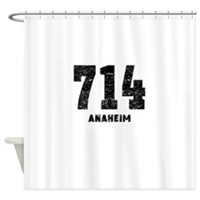 714 Anaheim Distressed Shower Curtain
