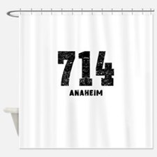 714 Anaheim Distressed Shower Curtain