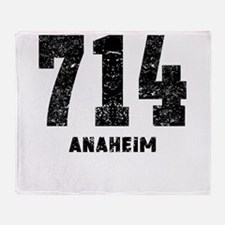 714 Anaheim Distressed Throw Blanket