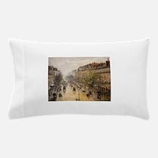 Camille Pissarro - Boulevard Montmartr Pillow Case