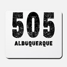 505 Albuquerque Distressed Mousepad
