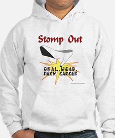 ORAL HEAD NECK CANCER AWARENESS Hoodie