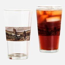 Giovanni Fattori - Berittener Hirte Drinking Glass