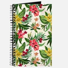 Colorful Exotic Flowers Journal