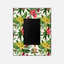 Colorful Exotic Flowers Picture Frame