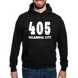 405 oklahoma city Hoodie (dark)