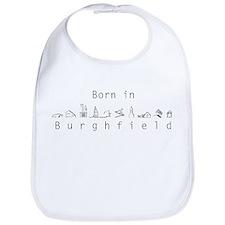 Born In Burghfield Bib