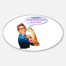 Rosie Fighting Cancer Design Decal