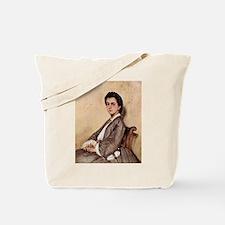 Giovanni Fattori - Porträt der Cousine de Tote Bag