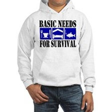 Basic Needs for Fishing Hoodie