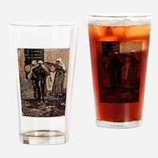 Giovanni Fattori - Nonne mit Esel Drinking Glass