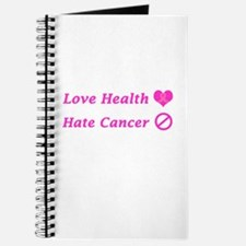 Love Health, Hate Cancer Charity Design Journal