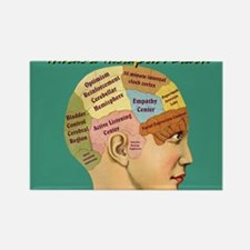 Funny Brain Rectangle Magnet (100 pack)