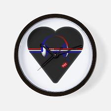 911 Dispatcher (Heart) Wall Clock