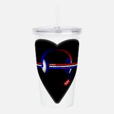 911 Dispatcher (Heart) Acrylic Double-wall Tumbler