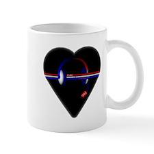 911 Dispatcher (Heart) Mugs