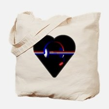 911 Dispatcher (Heart) Tote Bag
