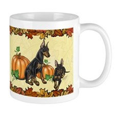 Manchester Terriers Autumn Mug Mugs