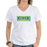 Doublemint twins Womens V-Neck T-shirts