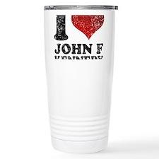 Funny John f kennedy Travel Mug