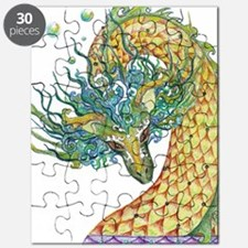 Funny Dragon water Puzzle