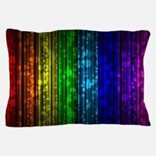 Rainbow Glitter Pillow Case