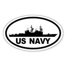 NAVY Destroyer Oval Decal