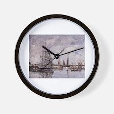 Eugene Boudin - Deauville, Norwegian Th Wall Clock
