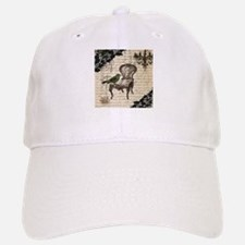 girly chandelier vintage paris Baseball Baseball Cap