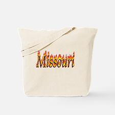 Missouri Flame Tote Bag