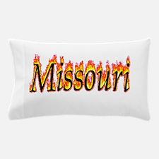 Missouri Flame Pillow Case
